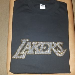 Laker Rhinestone Tee *New, no tag*